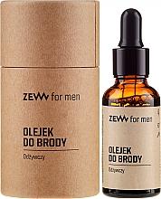 Düfte, Parfümerie und Kosmetik Pflegendes Bartöl - Zew For Men Nourishing Beard Oil