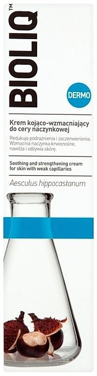 Beruhigende Gesichtscreme zur Stärkung der Blutgefäße - Bioliq Dermo Face Cream — Bild N2