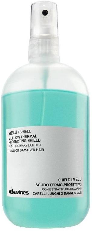 Hitzeschutzspray für langes oder strapaziertes Haar mit Rosmarinextrakt - Davines Mellow Thermal Protecting Shield — Bild N1