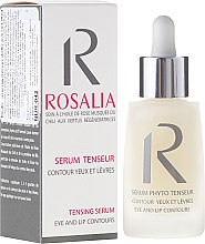 Düfte, Parfümerie und Kosmetik Straffendes Serum für die Augen- und Lippenpartie - Naturado Rosalia Serum Eye And Lip Contours