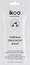 Düfte, Parfümerie und Kosmetik Entgiftende und regenerierende Haar- und Kopfhautmaske mit Blaubeer-, Brombeer- und Seetang-Extrakten - Ikoo Thermal Treatment Wrap