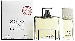 Düfte, Parfümerie und Kosmetik Loewe Solo Esencial - Duftset (Eau de Toilette 100ml + Eau de Toilette 30ml)