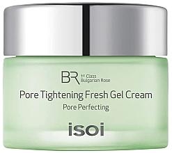 Düfte, Parfümerie und Kosmetik Porenverengende, feuchtigkeitsspendende und ölregulierende Gesichtscreme - Isoi Bulgarian Rose Pore Tightening Fresh Gel Cream