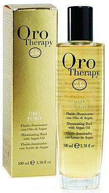 Haarfluid mit 24k Gold und Arganöl - Fanola Oro Therapy Fluido Oro Puro
