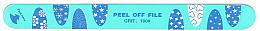 Düfte, Parfümerie und Kosmetik Nagelfeile mit 6 Schichten 180/180 - Tools For Beauty Nail File 6 Layer Peel Off