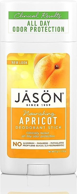 "Deo-Stick ""Aprikose"" - Jason Natural Cosmetics Pure Natural Deodorant Stick Apricot"