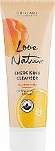 Düfte, Parfümerie und Kosmetik Gesichtsreinigungsgel mit Bio Extrakte aus Aprikose und Orange - Oriflame Love Nature Energising Cleanser
