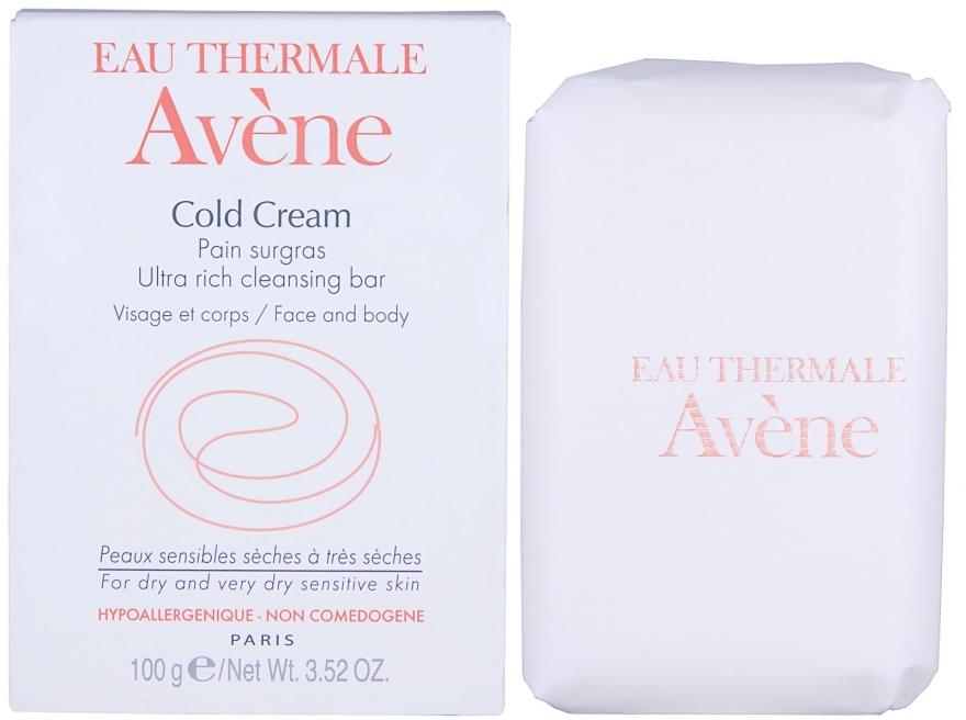 Ultra reichhaltige Seife für Körper und Gesicht mit Cold Cream - Avene Peaux Seches Cold Cream Soap — Bild N1
