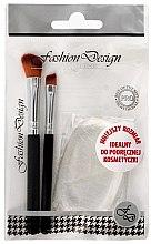 Düfte, Parfümerie und Kosmetik Make-up Set Fashion Design 38174 - Top Choice (2 Pinsel + Make-up Schwamm)