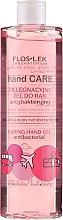 Düfte, Parfümerie und Kosmetik Antibakterielles Handgel mit Rose und Pfingstrose - Floslek Hand Care Caring Hand Gel