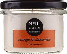 Düfte, Parfümerie und Kosmetik Duftkerze Orange & Zimt - Melli Care Orange & Cinnamon Soy Wax Scented Candle