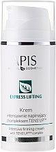 Düfte, Parfümerie und Kosmetik Intensiv straffende Gesichtscreme mit Tens'Up-Komplex - APIS Professional Express Lifting Intensive Firming Cream With Tens UP