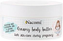 Düfte, Parfümerie und Kosmetik Feuchtigkeitsspendende und pflegende Körperbutter für Schwangere - Nacomi Pregnant Care Creamy Body Butter