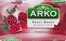 Düfte, Parfümerie und Kosmetik Parfümierte Körperseife - Arko Fruit Boost Beaty Soap Pomegranate