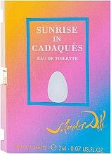 Düfte, Parfümerie und Kosmetik Salvador Dali Sunrise In Cadaques - Eau de Toilette (Probe)
