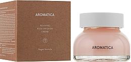 Düfte, Parfümerie und Kosmetik Verjüngende Gesichtscreme mit Rosenextrakt - Aromatica Reviving Rose Infusion Cream