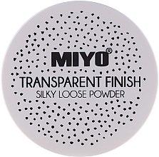 Düfte, Parfümerie und Kosmetik Loser Gesichtspuder - Miyo Transparent Finish Powder