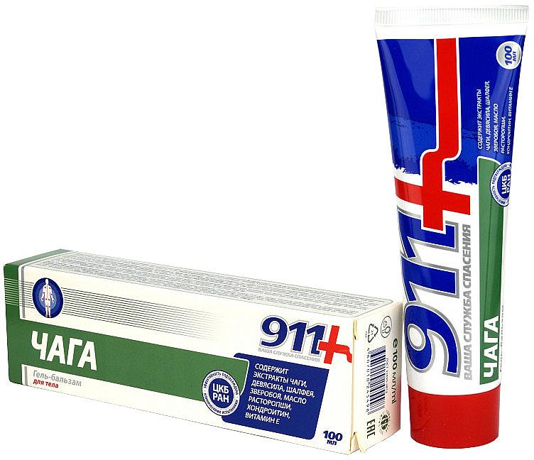 Gel-Balsam für die Gelenke mit Chaga-Extrakt - 911