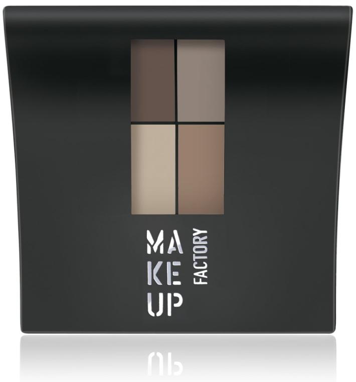 Matte Lidschatten - Make Up Factory Mat Eye Colors — Bild N1