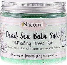 Düfte, Parfümerie und Kosmetik Badesalz aus dem Toten Meer mit Traubenkernöl und grüner Tee Aroma - Nacomi Dead Sea Bath Salt