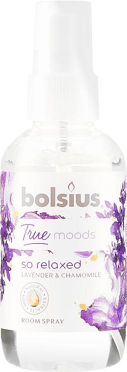 Raumspray Lavendel und Kamille - Bolsius Room Spray True Moods So Relaxed