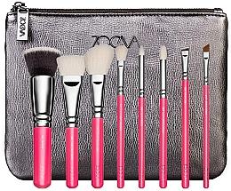 Düfte, Parfümerie und Kosmetik Make-up Pinselset 9-tlg. - ZOEVA Pink Elements Classic Set (8 brushes + clutch)