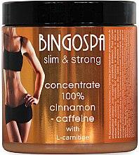 Düfte, Parfümerie und Kosmetik 100% Zimt-Koffein-Konzentrat gegen Cellulite mit L-Carnitin - BingoSpa Concentrate 100% Cinnamon Caffeine-L-Carnitine