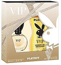Düfte, Parfümerie und Kosmetik Playboy VIP for Her - Duftset (Eau de Toilette 40ml + Duschgel 250ml)