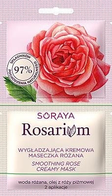 Glättende Creme-Maske mit Rose - Soraya Rosarium Smoothing Cream Rose Mask
