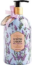 Düfte, Parfümerie und Kosmetik Flüssige Handseife Warmer Lavendel - IDC Institute Scented Garden Hand Wash Warm Lavender