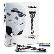 Düfte, Parfümerie und Kosmetik Rasierer mit 2 Ersatzklingen - Gillette Fusion Proglide Rogue One
