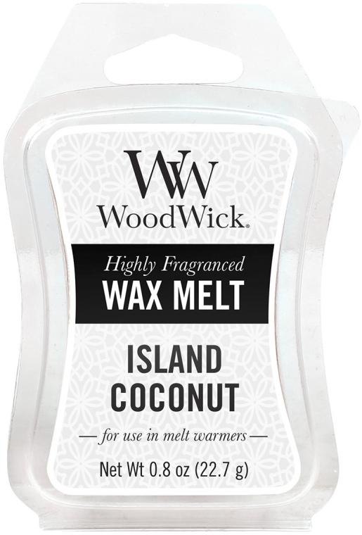 Tart-Duftwachs Island Coconut - WoodWick Wax Melt Island Coconut