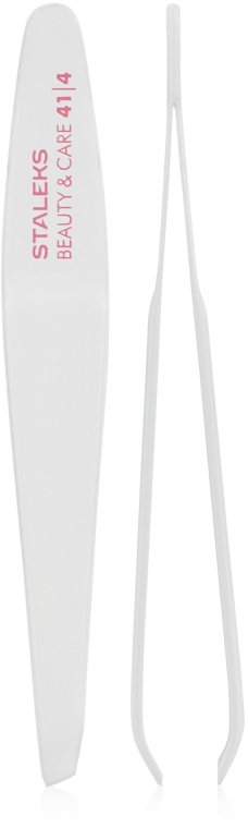 Pinzette TBC-41/4 schräg - Staleks Beauty & Care 41 Type 4