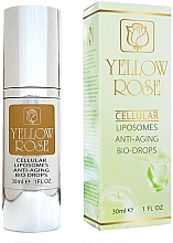 Düfte, Parfümerie und Kosmetik Anti-Aging Bio Tropfen mit Liposomen - Yellow Rose Cellular Liposomes Anti-Aging Bio-Drops