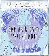 """Düfte, Parfümerie und Kosmetik Haargummis """"Bad Hair Day? Irrelephant!"""" 3 St. - Invisibobble Bad Hair Day? Irrelephant!"""