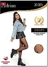 Düfte, Parfümerie und Kosmetik Strumpfhose für Damen Drops 20 Den Nero - Adrian