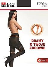 Düfte, Parfümerie und Kosmetik Anti-Cellulite Strumpfhose für Damen Fotyna 20 Den nero - Adrian