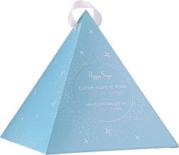Düfte, Parfümerie und Kosmetik Körperpflegeset - Peggy Sage Fleur De Coton (Hand- und Körpercreme 30ml + Lippenbalsam 5ml)