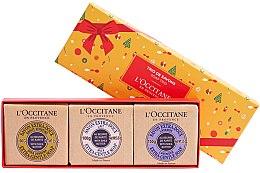 Düfte, Parfümerie und Kosmetik Seifenset - L'occitane Trio De Savons (Seife 3x 100g)