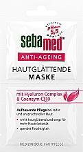 Düfte, Parfümerie und Kosmetik Glättende und feuchtigkeitsspendende Anti-Aging Gesichtsmaske für mehr Hautelastizität - Sebamed Anti-Ageing Q10 Hyaluron Face Mask