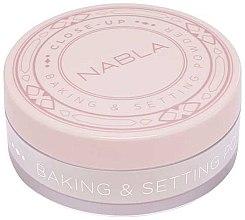 Düfte, Parfümerie und Kosmetik Loser Gesichtspuder - Nabla Close-Up Baking Setting Powder