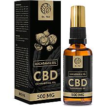 Düfte, Parfümerie und Kosmetik Natürliches Macadamiaöl CBD 500 mg - Dr. T&J Bio Oil