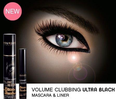 Mascara für voluminöse Wimpern - Bourjois Volume Clubbing Ultra Black — Bild N2