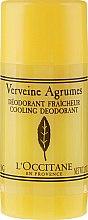 Düfte, Parfümerie und Kosmetik Deostick - L'Occitane Verbena Deodorant Stick
