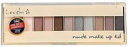 Düfte, Parfümerie und Kosmetik Lidschattenpalette - Lovely Nude Make Up Kit