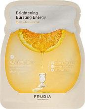 Düfte, Parfümerie und Kosmetik Aufhellende Tuchmaske mit japanischem Mandarinenschalenextrakt und Vitamin C - Frudia Brightening Citrus Mask