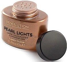 Düfte, Parfümerie und Kosmetik Loser Highlighter - Makeup Revolution Pearl Lights Loose Highlighter Libre