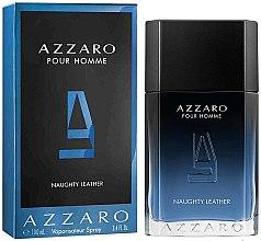 Düfte, Parfümerie und Kosmetik Azzaro Pour Homme Naughty Leather - Eau de Toilette
