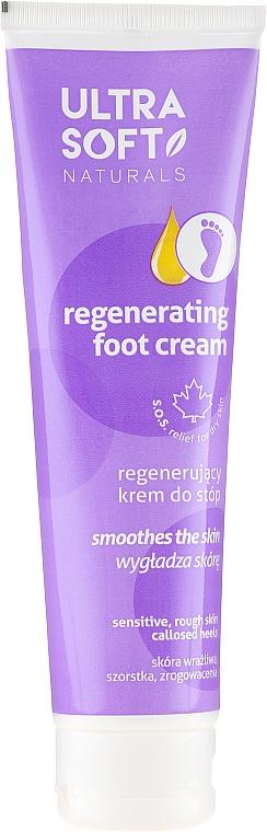 Regenerierende und glättende Fußcreme - Ultra Soft Naturals Regenerating Foot Cream Smoothes