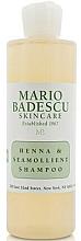 Düfte, Parfümerie und Kosmetik Shampoo mit Henna und Zitronengrasextrakt für glänzendes Haar - Mario Badescu Henna & Seamollient Shampoo